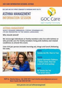 Asthma Information Session